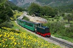 Поезд конца мира стоковое фото rf