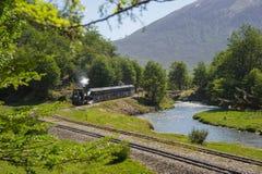Поезд конца мира стоковое фото