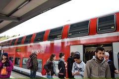 Поезд к Augsberg стоковая фотография rf