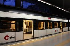 поезд метро Стоковое фото RF
