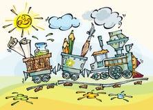 поезд младенца Стоковое Изображение