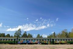 поезд надписи на стенах Стоковые Фото