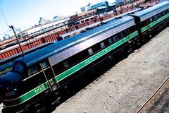 поезд неиспользованный Стоковые Фото