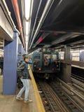 Поезд ностальгии Стоковая Фотография RF