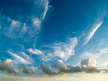 поезд облака Стоковое фото RF