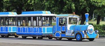 поезд пара езды Стоковые Изображения RF
