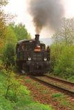 поезд пара сельской местности Стоковая Фотография