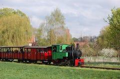 Поезд пара узкой колеи железнодорожный Стоковая Фотография RF