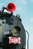 поезд пара Стоковая Фотография