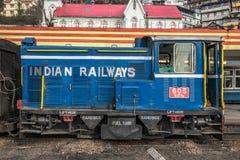 Поезд пара Darjeeling стоковое изображение