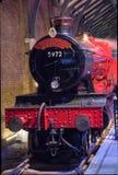 Поезд пара Hogwarts срочный стоковое фото