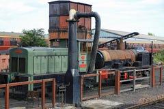 поезд пара loco diesil Стоковая Фотография