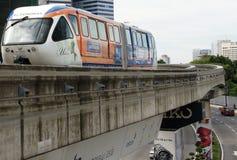 поезд пассажира Куала Лумпур Малайзии общественный Стоковая Фотография