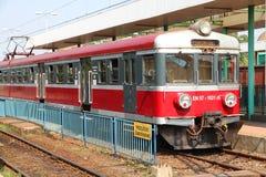поезд Польши Стоковая Фотография