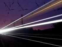 поезд привидения Стоковые Изображения