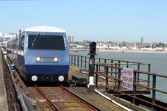 поезд пристани Стоковая Фотография RF