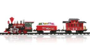 поезд рождества стоковое изображение