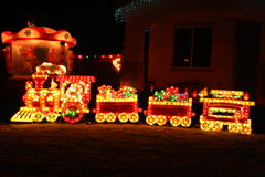 поезд рождества Стоковые Фото