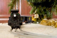Поезд рождества Стоковые Изображения RF