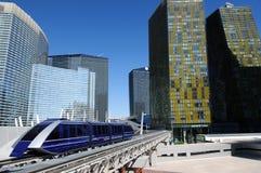 Поезд сини городской Стоковые Изображения RF