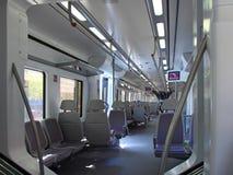 поезд скорости iterior стоковое фото rf