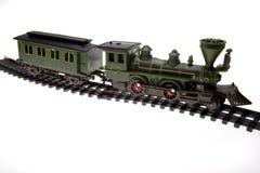 поезд следа игрушки Стоковое Фото
