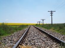 поезд следа стоковое изображение rf