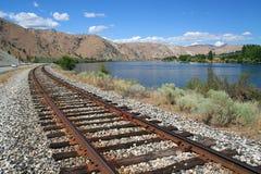 поезд следа Стоковое фото RF