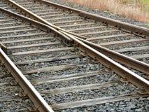 поезд следа Стоковые Фотографии RF