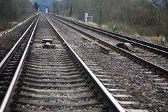 поезд следов Стоковая Фотография RF