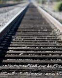 поезд следов Стоковое Изображение