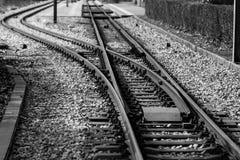 поезд следов Стоковое фото RF