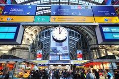 поезд станции данным по индикатора туристский Стоковые Фотографии RF