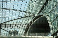 поезд станции съемки детали Стоковое Фото