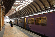 поезд станции Стоковое Изображение RF