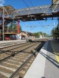 поезд станции Стоковое Изображение