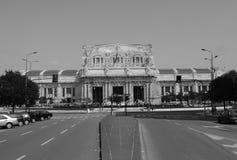 поезд станции Стоковые Фото