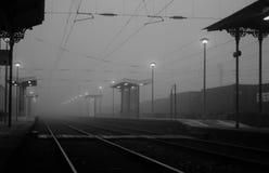поезд станции Стоковые Фотографии RF