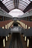 поезд станции antwerp Бельгии Стоковые Изображения