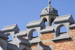 поезд станции ghent детали Бельгии Стоковое Изображение