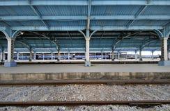 поезд станции havana Стоковое Изображение