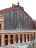 поезд станции madrid стоковое изображение rf
