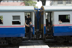 поезд Таиланда Стоковое Изображение RF