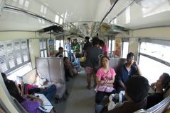 поезд Таиланда Стоковые Фотографии RF