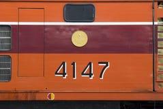 поезд Таиланда Стоковые Изображения RF
