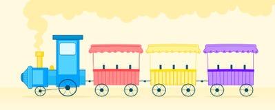 поезд типа младенца Стоковая Фотография