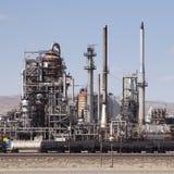 поезд топливозаправщика нефтеперерабатывающего предприятия Стоковые Фото
