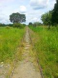 Поезд трассы стоковое изображение rf