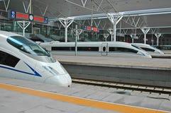 поезд фарфора высокоскоростной Стоковое фото RF