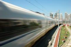 поезд фарфора высокоскоростной Стоковое Фото